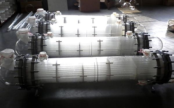 玻璃列管冷凝器的安装步骤