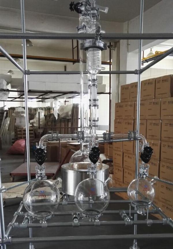 使用玻璃球瓶式反应装置的细节